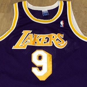 6f7075164 Champion Shirts - Champion Authentic LA Lakers Nick Van Exel Jersey